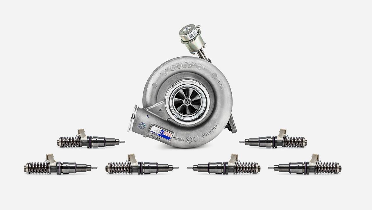 Преглед на екстра комплет за ремонт на мотор на моторот на Volvo Trucks
