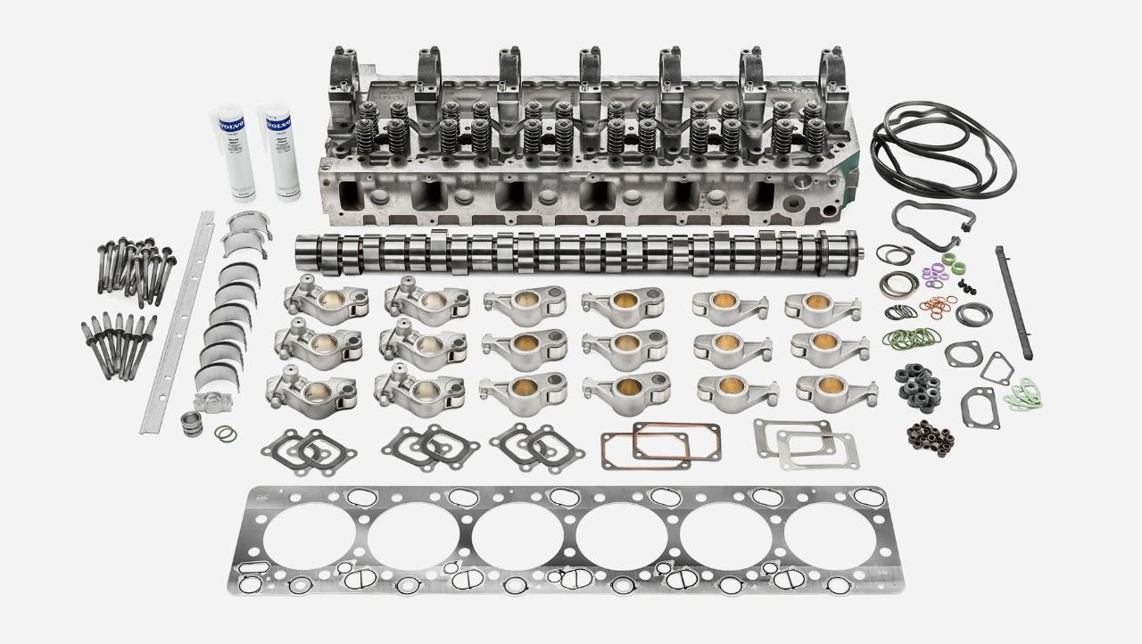 Комплет за ремонт на мотор за горен дел на моторот на Volvo Trucks