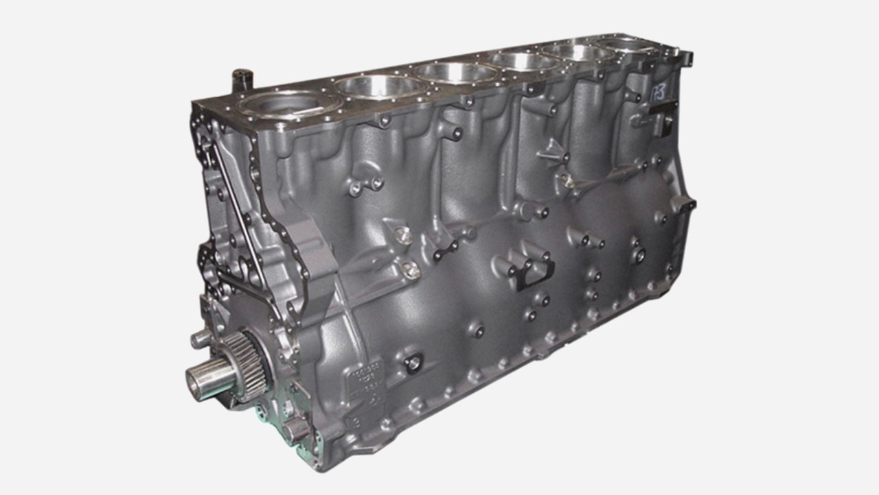 Комплетен блок на моторот