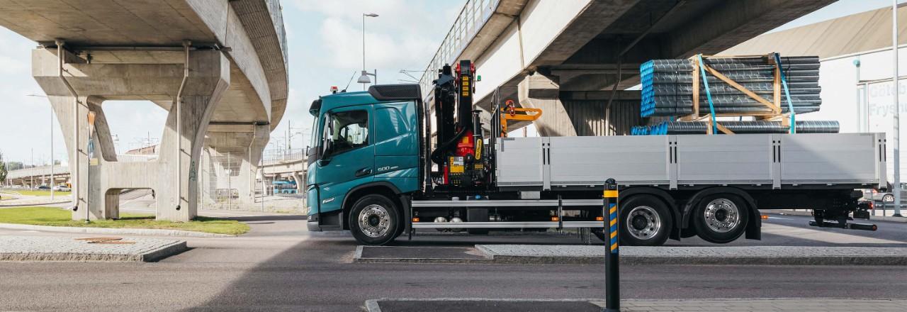 Добијте го вашиот Volvo FM со широк спектар на аранжмани на оски, меѓуоскино растојание и височини на шасијата според вашите потреби.